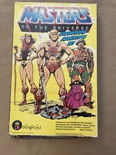 Vintage Colorforms MOTU He-Man Masters Of The Universe Adventure Set Not Complet