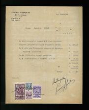 LETTERE COMMERCIALI TONINO GASPARINI CARPI 1944