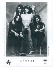 1994 Arcade Glam Metal Band Stephen Pearcy Fred Coury Press Photo