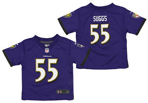 Nike NFL Infants Baltimore Ravens Terrell Suggs #55 Game Day Jersey