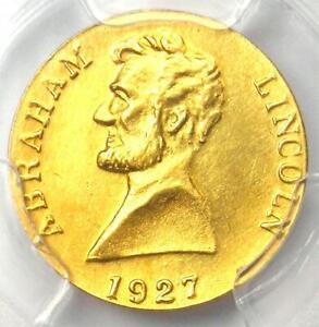 1927 T. Elder Abraham Lincoln Token - PCGS Uncirculated Details (UNC MS)