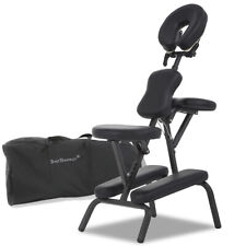 Refurbrished 6Portable Tattoo Spa Massage Chair Leather Pad Travel w/Free Carry