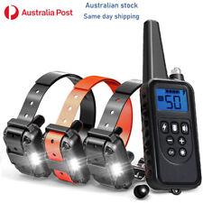 Training Dog Pet  E - Collar Obedience Remote Control anti bark-shock electric
