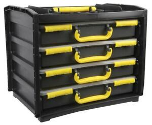 Duratool Assortment Cases, Set of 4 - 310mm x 377mm x 265mm