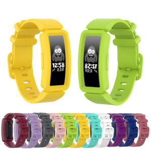 Replacement Silicone Wrist Watch Strap Band For Fitbit ACE 2 Kids Smart Watch
