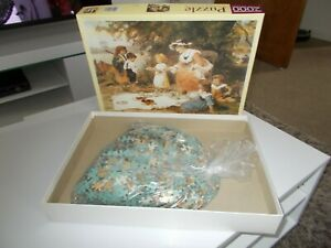 """JR Puzzle, 2000 Piece Puzzle, """"Charity"""" by Frederick Morgan"""