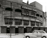MLB Comiskey Park Home of the Chicago White Sox Front Entrance 8 X 10 Photo