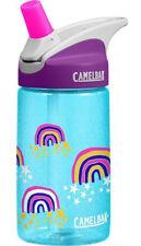 Camelbak Eddy Kids Anti-déversement eau/boissons hydratation bouteille paillettes Rainbows