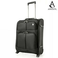 Aerolite Ligero 2/4 ruedas Carry On de mano cabina maleta equipaje 55x40x20cm