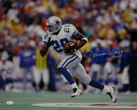 cc8308cf Darren Woodson Autographed *White Dallas Cowboys 16x20 Running Photo- JSA W  Auth