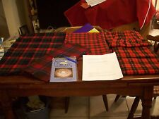 WoolPieces/BraidingRedSet (5) 2# Total (See Listing),Toothbrush Rug/needle,inst