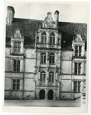 Historic France - Vintage Publication Photograph - Chateau d'Azay-le-Rideau