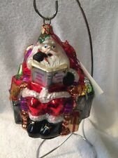 Polonaise Saks Fifth Avenue Store Advertising Blown Glass Ornament Like Radko