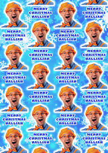 BLIPPI Personalised Christmas Gift Wrap - Blippi Personalised Wrapping Paper