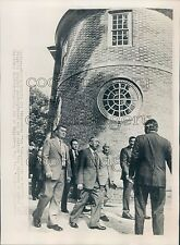 1975 Emperor Hirohito of Japan Visits Williamsburg Virginia Press Photo