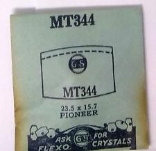 NOS G-S Crystal MT344 for PIONEER Watch* 23.5 x 15.7 mm