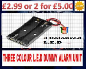 Dummy Alarm Box Flashing LEDs - Alarm Box LED - Dummy House Alarm Box LED