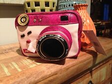 Betsey Johnson Kitsch Close Up Camera Crossbody Bag NWT