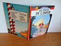 """E.O.  1978 """"Les Portes de l'enfer"""" par Jacques Martin TBE"""