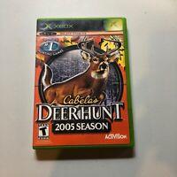 Cabela's Deer Hunt: 2005 Season (Microsoft Xbox, 2004) No Manual Previous Rental