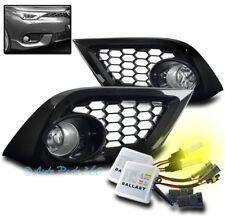 16 SCION/17 TOYOTA COROLLA IM BUMPER DRIVING FOG LIGHTS CHROME W/3000K HID+BEZEL