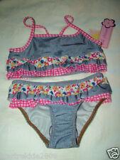 Pink Platinum Little Girls Ruffled Two Piece Swimwear, Light Blue, Sz.2T(Us).Nwt