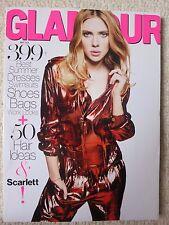 Glamour Magazine May 2014 Scarlett Johansson Best Summer Dresses Swimsuits