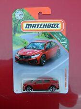 Matchbox '17 Honda Civic Hatchback MBX Road Trip 14 /20 red 2019 8 / 100