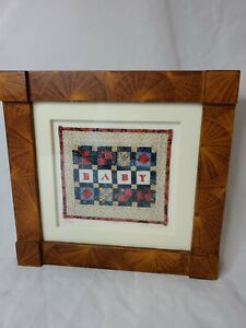 Vintage Original Kate Adams Miniature Quilt Baby Dated 1997 1 of 4 SIGNED RARE