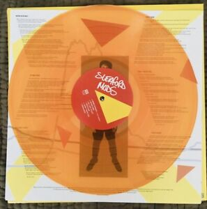 "Sleaford Mods - Spare Ribs LP 12"" Clear Orange Vinyl 2021 SEALED SOLD OUT LTD ED"