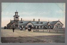 [53861] OLD POSTCARD RAILWAY STATION IN PORTRUCH, COUNTY ANTRIM, IRELAND