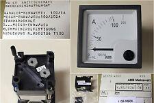 BBC GOERZ METRAWATT Strommesser EQ 48, Wandler-Nennwert 100/1A