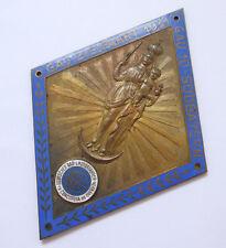 Plakette Badge Kühler Autoplakette --Gau Zielfahrt Südbayern 1931--