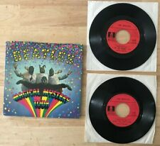 RARE FRENCH BEATLES DOUBLE EP ODEON SMO 39501/2 MAGICAL MYSTERY TOUR