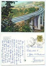 24275-Autostrada del Sole-Tratto appenninico-Postcard, Run