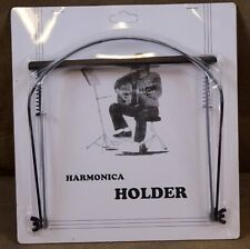 Axl Ph-002 Harmonica Holder in Black Finish, New