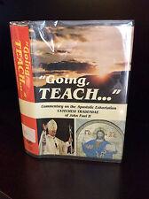 "Pope John Paul II - ""GOING TEACH...""  By Cesare Bonivento - 1980, Catholic."