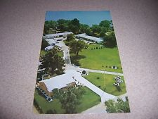 1970s SMITH'S MOTEL BRIGGS LAKE BRIGHTON MICHIGAN MI. VTG POSTCARD