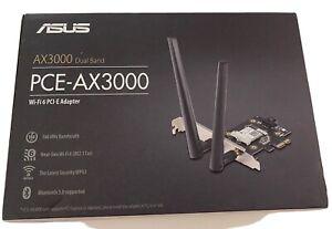 ASUS AX3000 Dual Band Wi-Fi 6 PCI-E Adapter New In Original Box