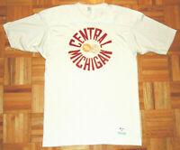 Central Michigan University Chippewas Jersey Shirt Champion NCAA Vintage 70s L
