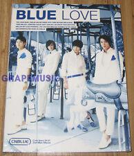 CNBLUE Bluelove 2ND MINI ALBUM K-POP CD & FOLDED POSTER SEALED
