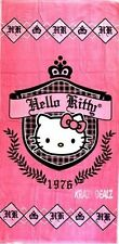 Official Hello Kitty Prep 1976 Cotton Beach Towel with Carry Case Gift