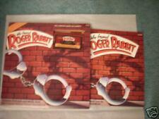 """Disney Album on CASSETTE """"Who Framed ROGER RABBIT"""" LP 1988"""