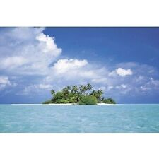 TREASURE ISLAND - TROPICAL BEACH POSTER - 24x36 SHRINK WRAPPED - OCEAN 3654