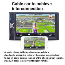 12V 2DIN Autoradio Bluetooth Car Stereo Radio Player USB/TF/AUX/FM+Kamera Neu