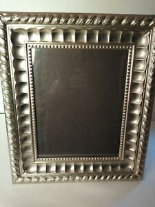 Towle Silver Plated 8x10 Decorative Photo Frame Horizontal & Vertical