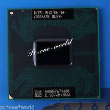 100% OK Intel Core 2 Duo T9600 2.8 GHz Dual-Core Laptop Processor CPU