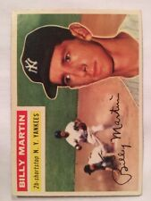 1956 Topps #181 Billy Martin New York Yankees
