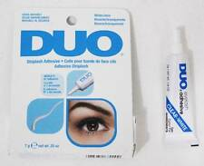 DUO FALSE EYELASH LASH ADHESIVE GLUE CLEAR & WATERPROOF 7G MADE IN USA AUTHENTIC