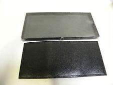 Vintage NOS Bronco Mens Deep Buff Cowhide Leather Tri Fold Wallet (A8)